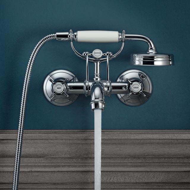 AXOR Montreux 2-handle bath mixer chrome