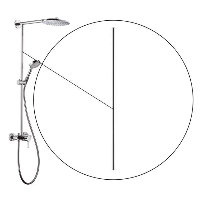 AXOR pipe 1000 mm for Raindance Showerpipe 240 27193000 PG12