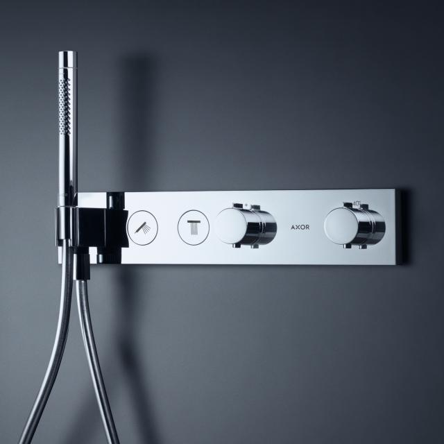 AXOR ShowerSolutions Select thermostatic module 460 / 90 for 2 outlets chrome