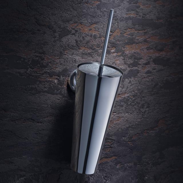 AXOR Starck toilet brush holder, wall-mounted