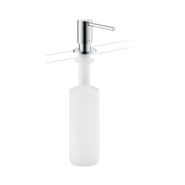 AXOR Uno washing up liquid dispenser chrome