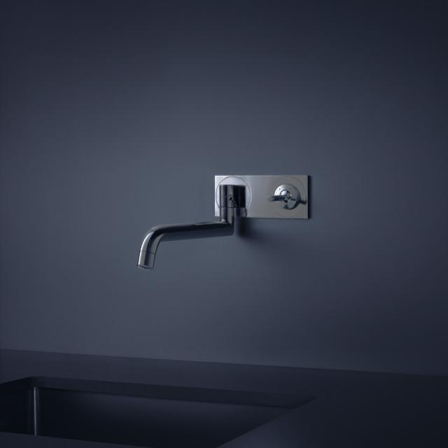 AXOR Uno² concealed, single lever kitchen mixer stainless steel look