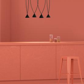Axolight Jewel LED pendant light, 4 heads, square