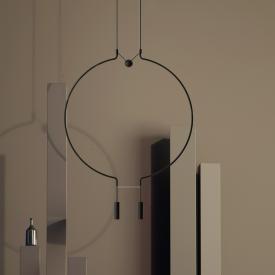 Axolight Liaison LED pendant light, 2 heads