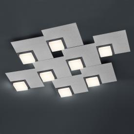 BANKAMP QUADRO LED ceiling light / wall light 8 heads with dimmer