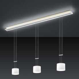 BANKAMP STRADA GRAZIA LED pendant light 4 heads with dimmer