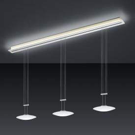 BANKAMP STRADA ORBIT CCT LED pendant light 4 heads with dimmer