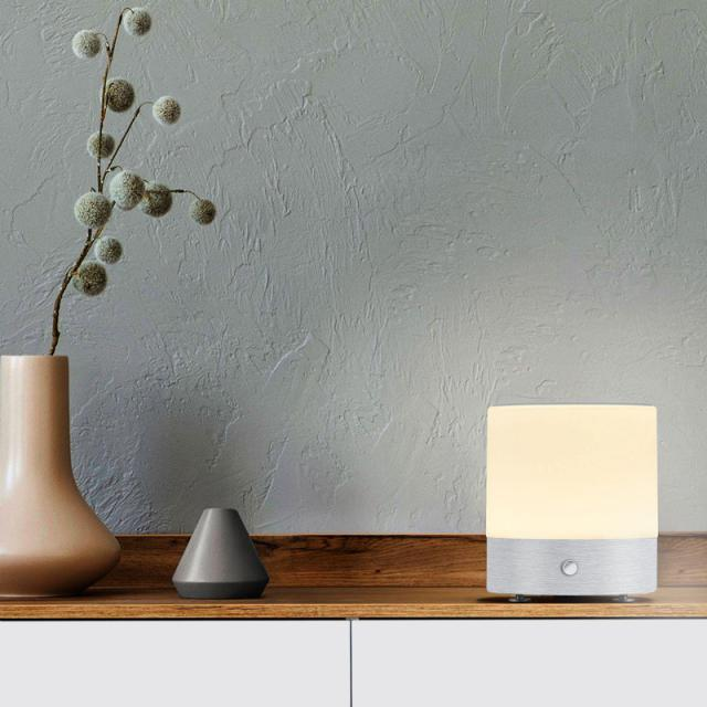 BANKAMP BUTTON LED table lamp with dimmer