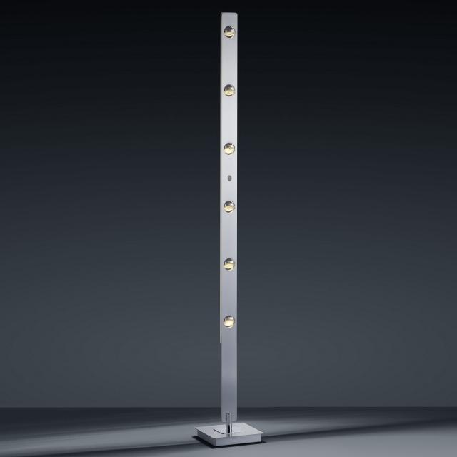 BANKAMP CARO LED floor lamp with dimmer