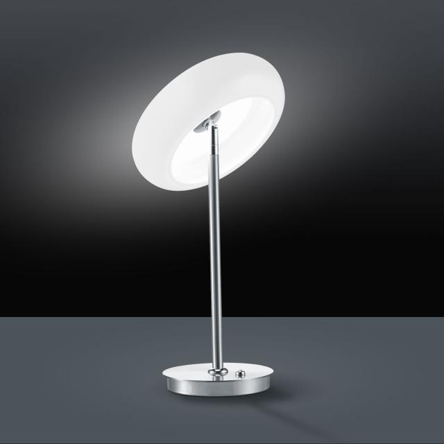BANKAMP CENTA LED table lamp with dimmer
