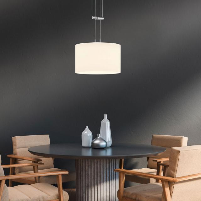 BANKAMP GRAZIA LED pendant light 1 head with dimmer
