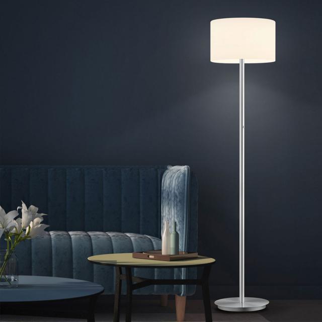 BANKAMP GRAZIA LED floor lamp with dimmer