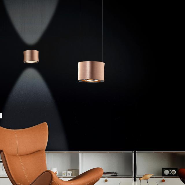 BANKAMP IMPULSE LED pendant light 1 head