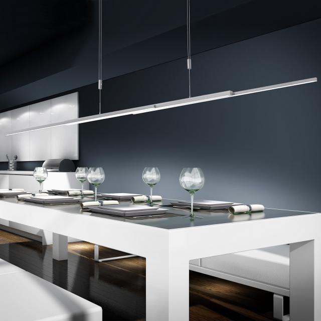 BANKAMP L-lightLINE LED pendant light with Vertical Dimm