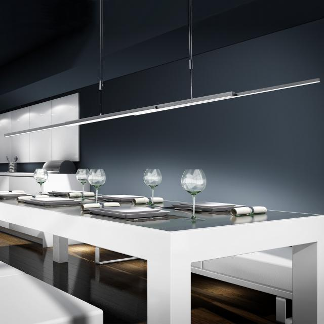 BANKAMP L-lightLINE up & down LED pendant light  with Vertical Dimm