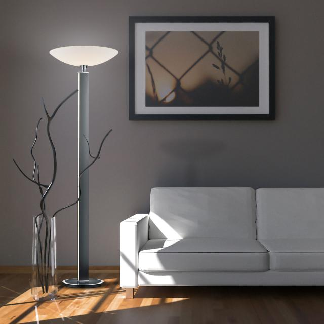 BANKAMP PURE F LED floor lamp with dimmer