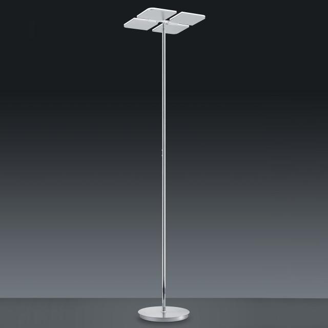 BANKAMP QUADRIFOGLIO LED floor lamp with dimmer