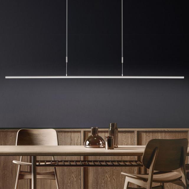 BANKAMP SLIM LED pendant light with Vertical Dimm