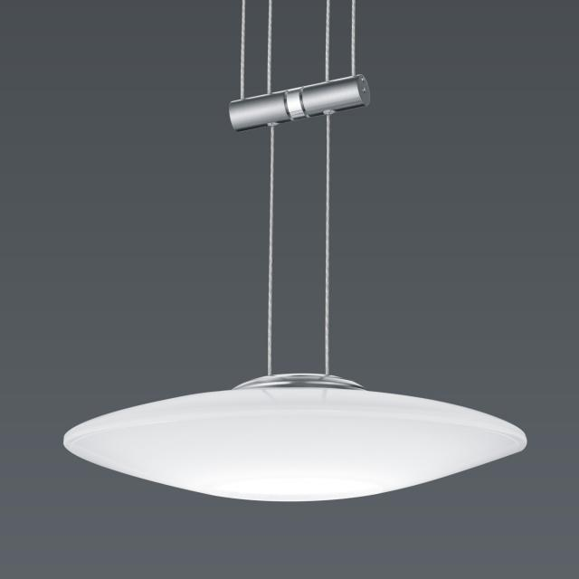 BANKAMP STRADA ORBIT CCT LED pendant light without canopy with dimmer