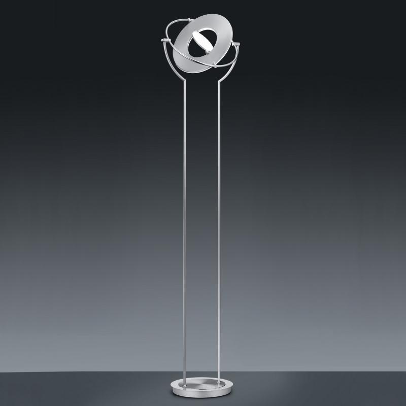 Bankamp Lampadaire Nickel Mat//Chrome