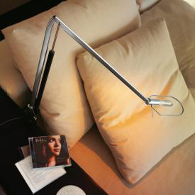 belux liftolino LED table lamp with table clamp, dimmer and adjustable light colour