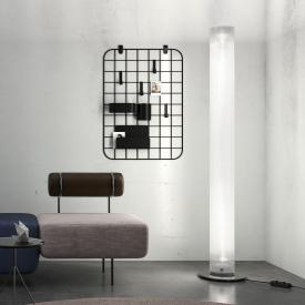 belux twilight LED floor lamp with dimmer, round