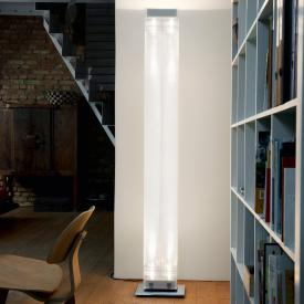belux twilight LED floor lamp with dimmer