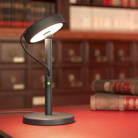 belux u-turn LED table lamp with dimmer