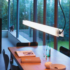 belux updown pendant light with two-piece diffuser