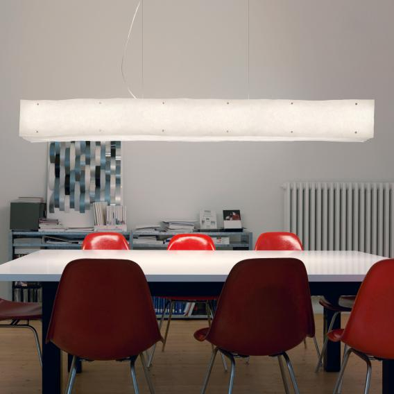 belux one by one LED pendant light with dimmer