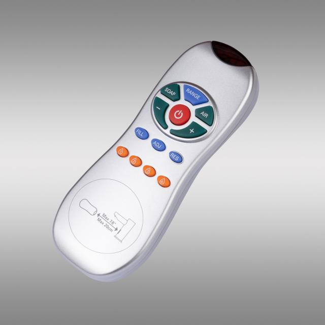 PREMIUM remote control for electronic fittings and soap dispenser