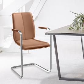 bert plantagie Tara cantilever chair with armrests