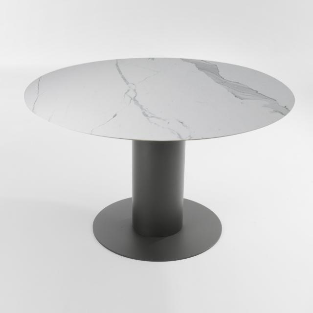 bert plantagie Oval dining table, round