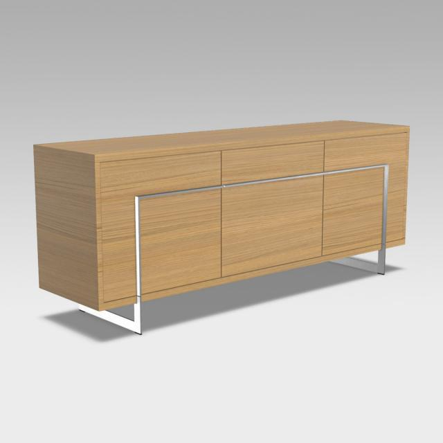bert plantagie Vision sideboard with 3 doors and drawer