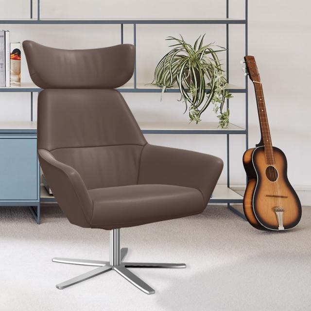 bert plantagie Zyba armchair with headrest
