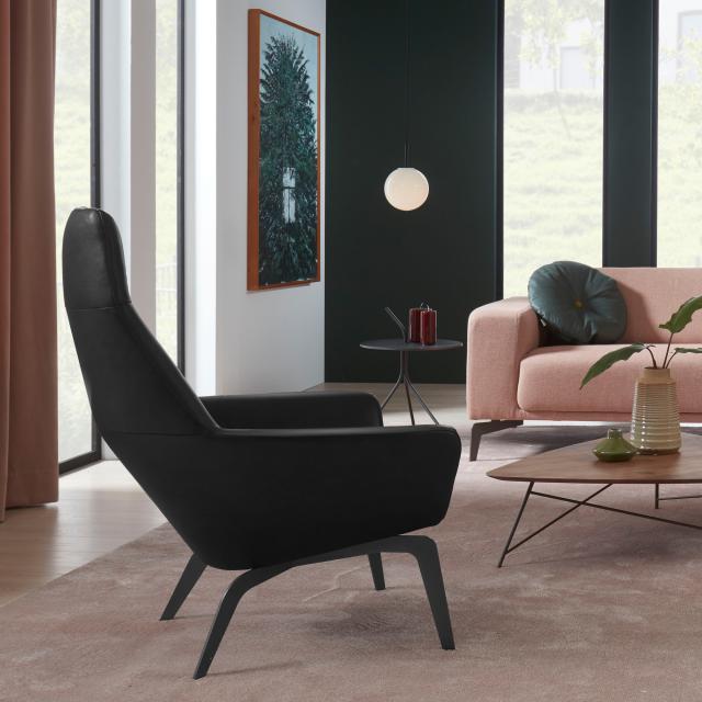 bert plantagie Zyba high armchair, real leather
