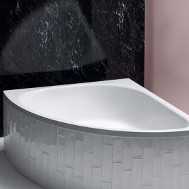Bette Arco Baignoire d'angle blanc, avec revêtement BetteAntirutsch sur toute la surface et BetteGlasur Plus