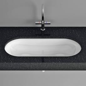 Bette Comodo undermount washbasin white, with overflow