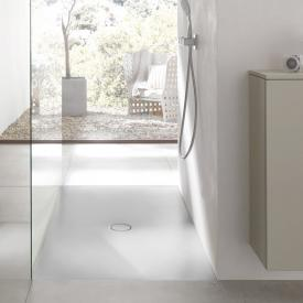 Bette Floor rectangular/square shower tray white, with BetteAnti-slip Pro