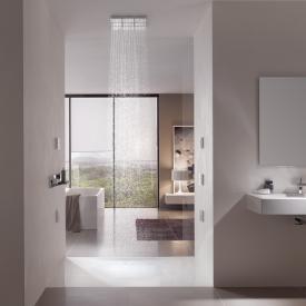 Bette Floor Side rectangular/square shower tray white, with BetteGlaze