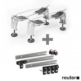 Bette legs B23-1500 incl. MEPA set of 3 support rails