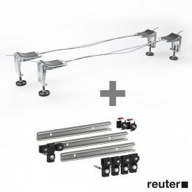 Bette legs B23-1525 incl. MEPA set of 3 support rails