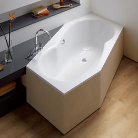 Bette Metric hexagonal bath white, with BetteAnti-slip full base surface