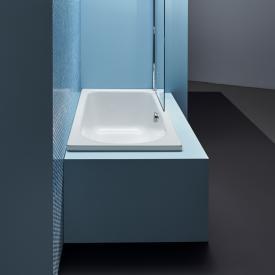 Bette Ocean Low-Line rectangular bath, front overflow white