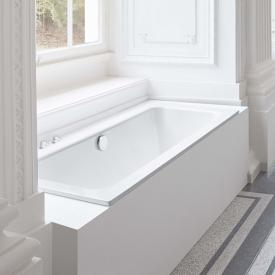Bette One rectangular bath white, with BetteAnti-slip, with BetteGlaze Plus