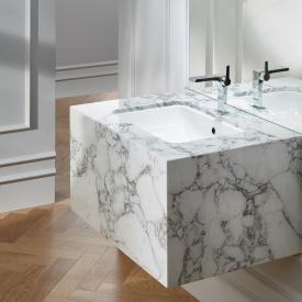 Bette One undermount washbasin white, with BetteGlaze Plus