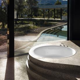 Bette Pond built-in bath white
