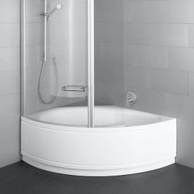 Bette Pool III Panel corner bath with panelling white