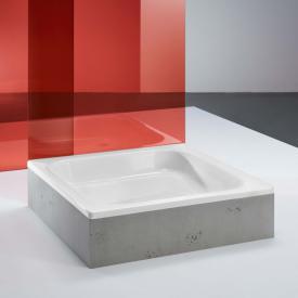 Bette Quinta rectangular/square shower tray white