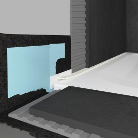 Bette sealing system Pro for floor-level shower tray installations